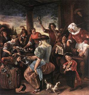 A Merry Party 1660