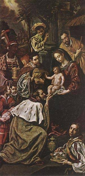 Adoration Of The Magi 1620