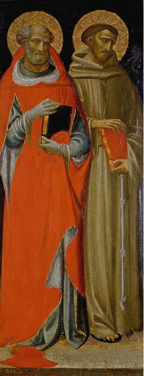 St Jerome and St Francis