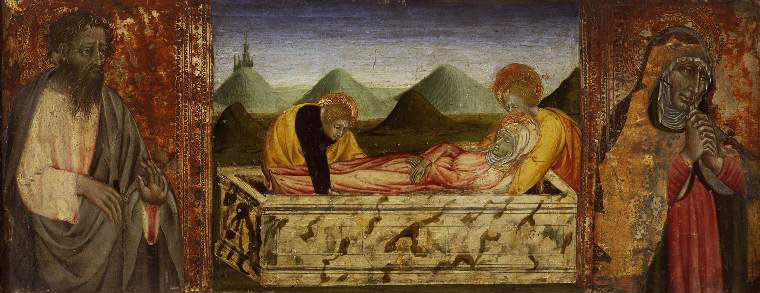 The Entombment of the Virgin