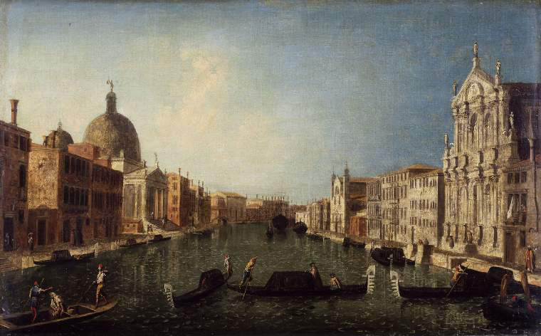 The Grand Canal, Venice, with S. Simeone