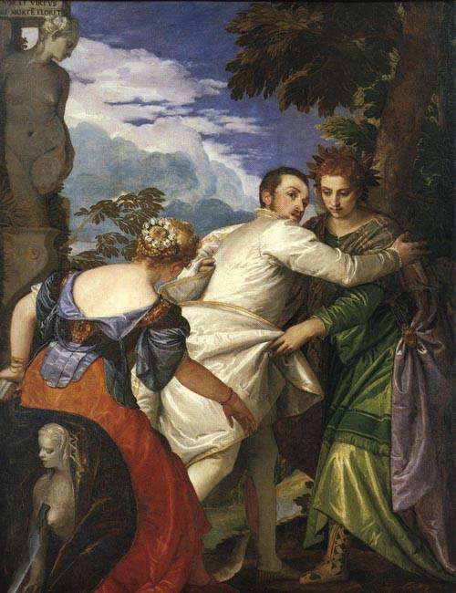Allegory of Virtue and Vice 1580