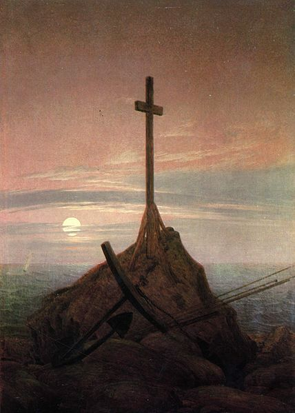 Cross on the Baltic Sea