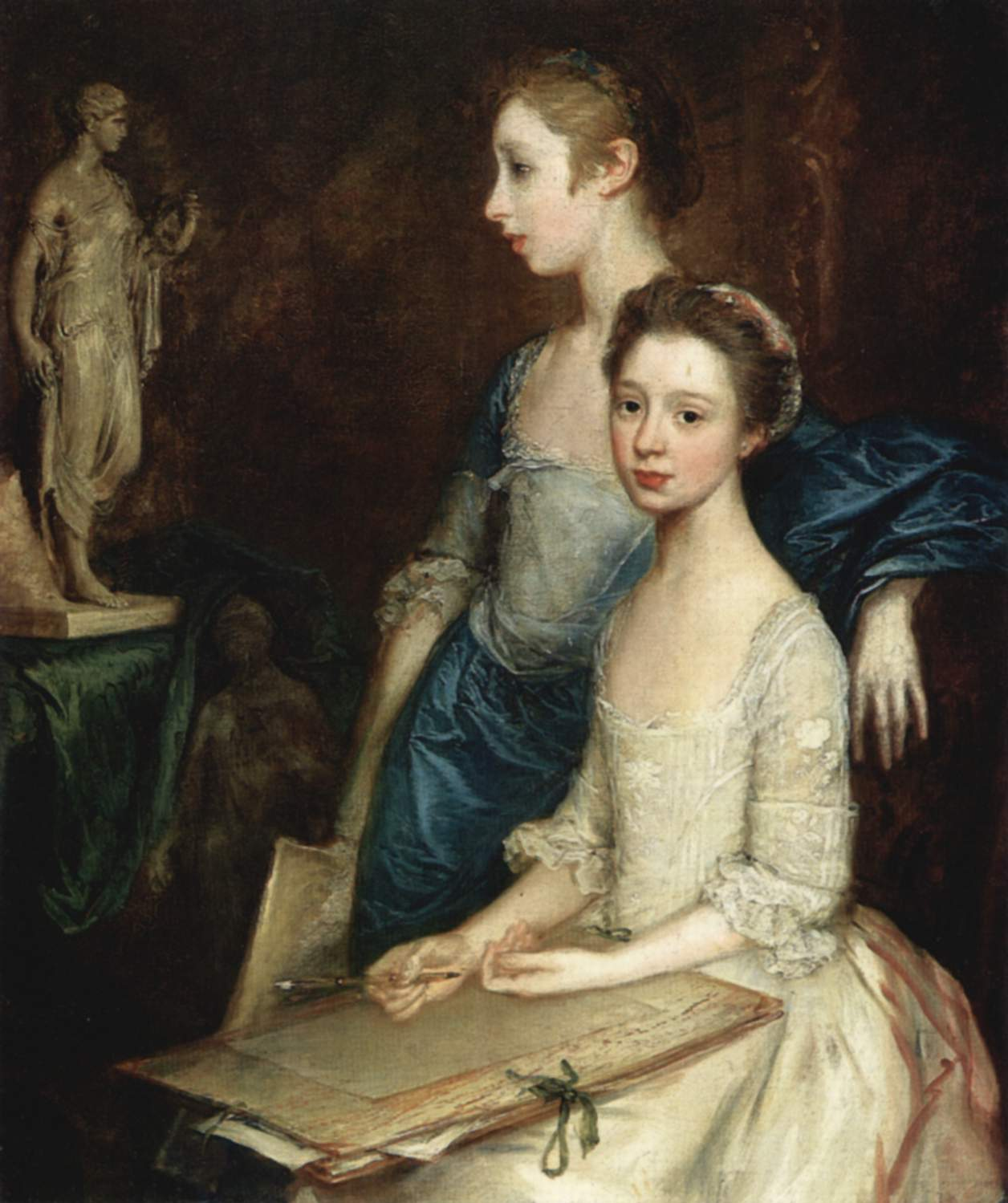 The Artist's Daughters, Molly and Peggy