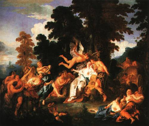 Bacchus and Ariadne 1717