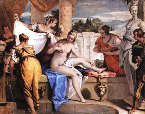 Bathsheba in her Bath 1725