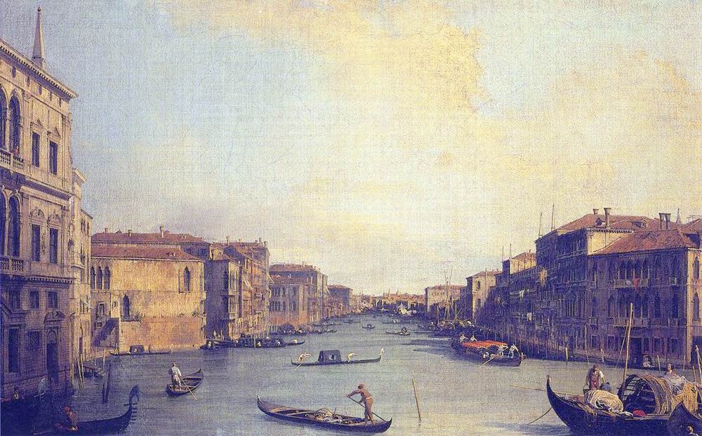 Grand Canal from the Palazzo Balbi