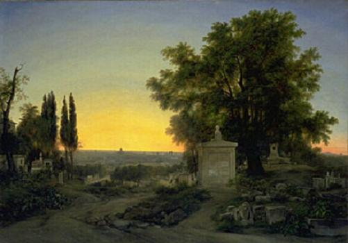 Paris, View of Père Lachaise