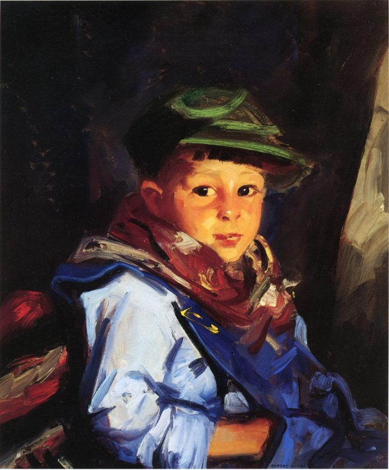 Boy with a Green Cap