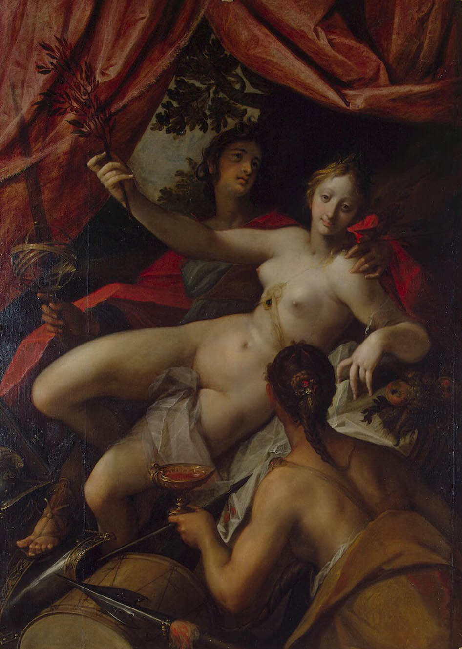 Allegory of Peace Art and Abundance