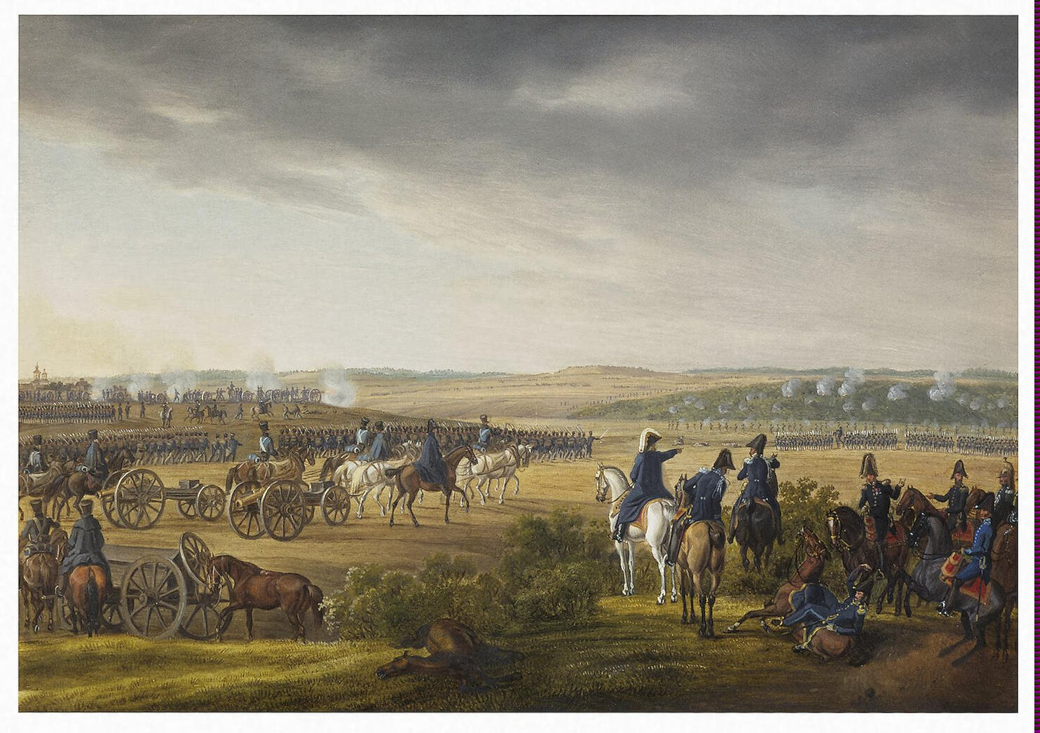 Battle of Moscow on 7 September 1812
