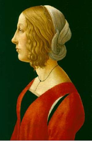 Bust of a Young Woman 1485 90