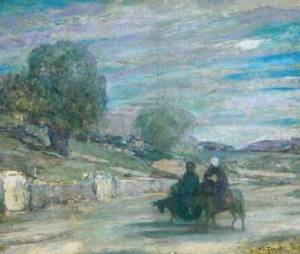 Flight into Egypt 1921