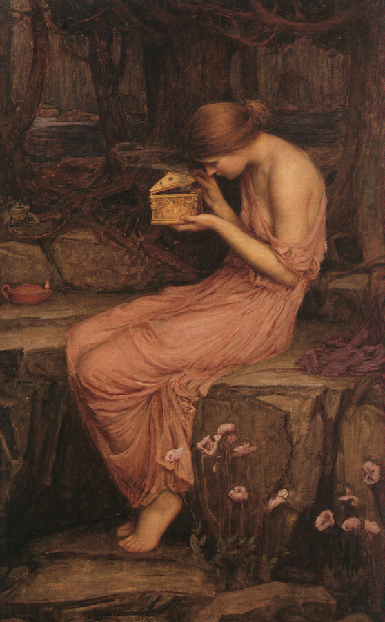 Psyche Opening the Golden Box