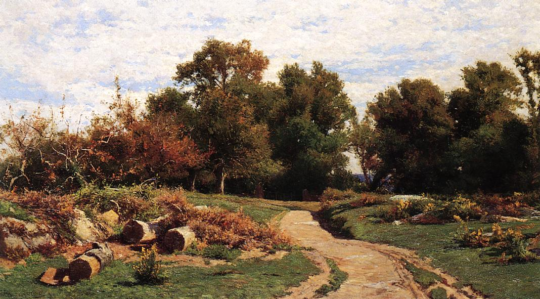 A Country Path In Summer