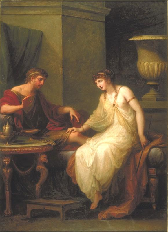 odyssey and circe Read the short story and myth of circe and odysseus and visit the ancient world of gods & monsters the story and myth of circe and odysseus features pictures from mythology and legend.