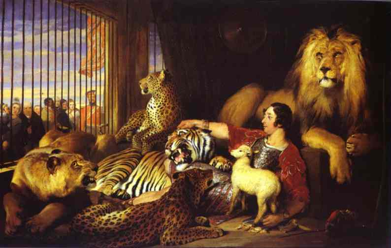 Isaac Van Amburgh And His Animals