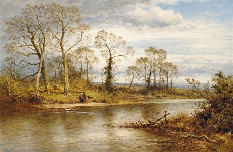An English River in Autumn