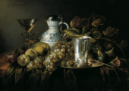Fruit Still Life with a Silver Beaker 1648