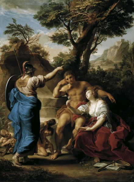 Hercules at the Crossroads 1748