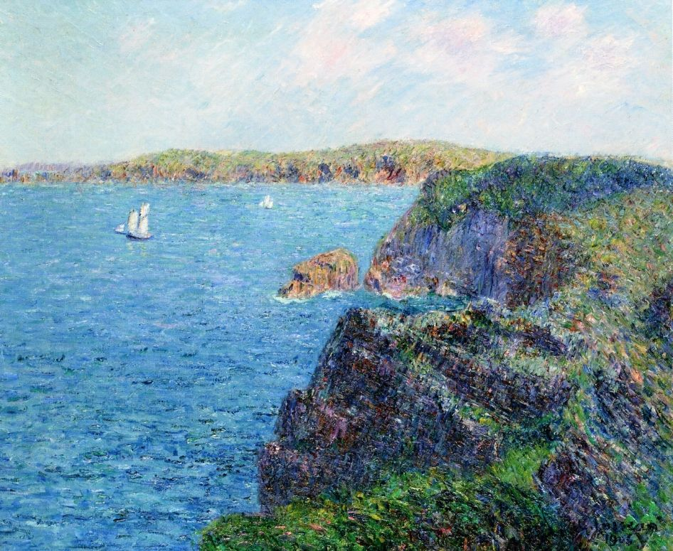 A Cove at Sevignies, Cap Frehel