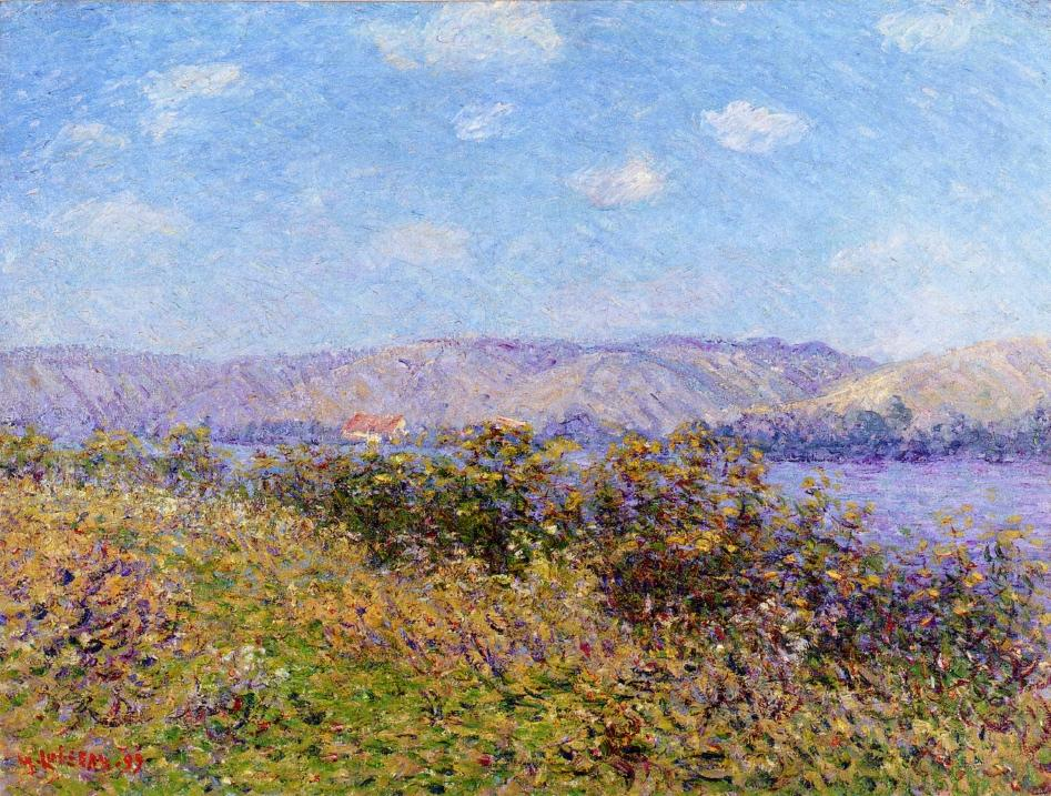 Banks of the Seine in Summer, Tournedos-sur-Seine