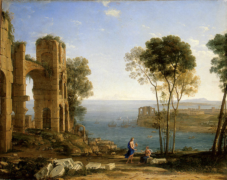 Coast View With Apollo And The Cumaean Siby