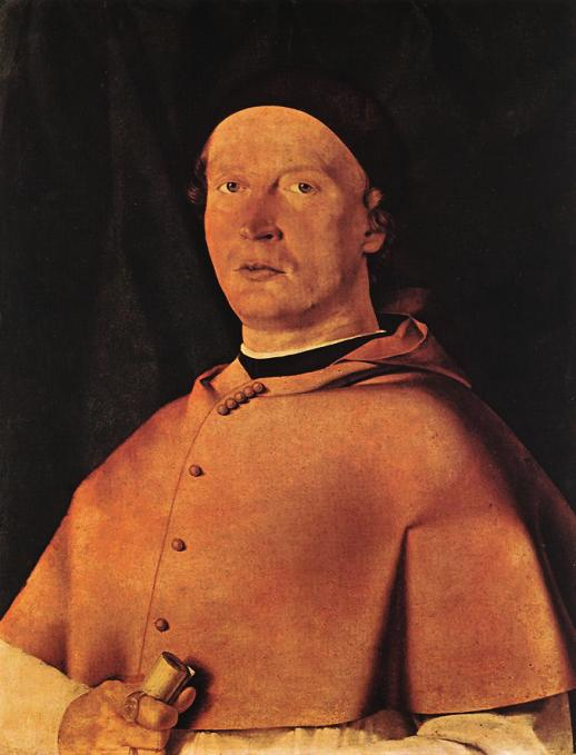 Bishop Bernardo de\' Rossi