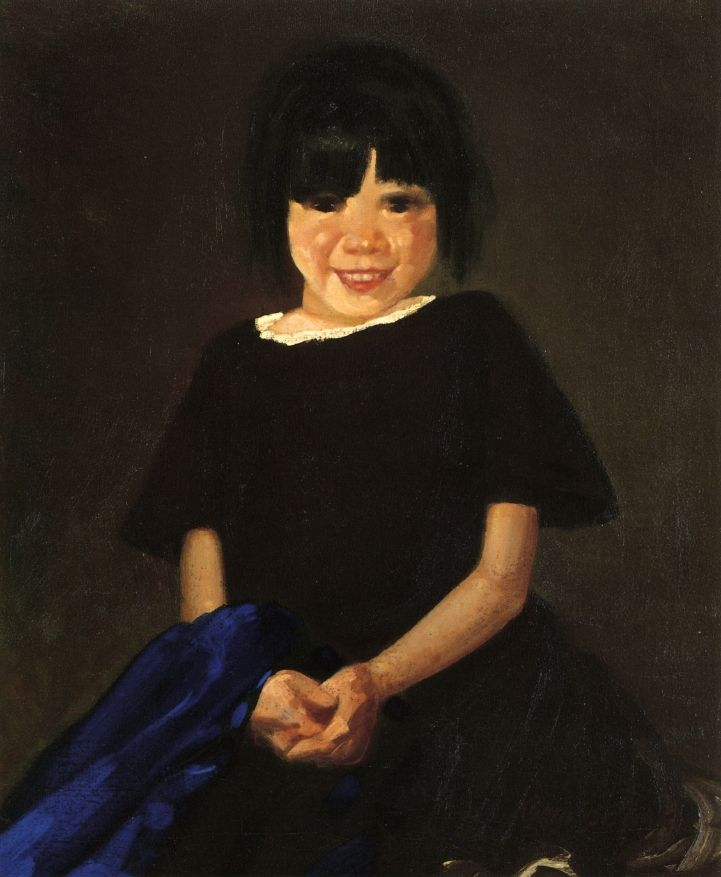 Portrait of a Girl in Black