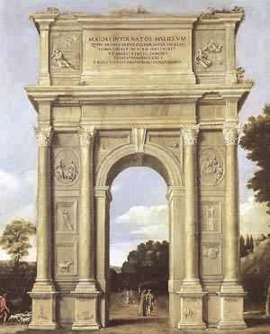 A Triumphal Arch Of Allegories 1607-10