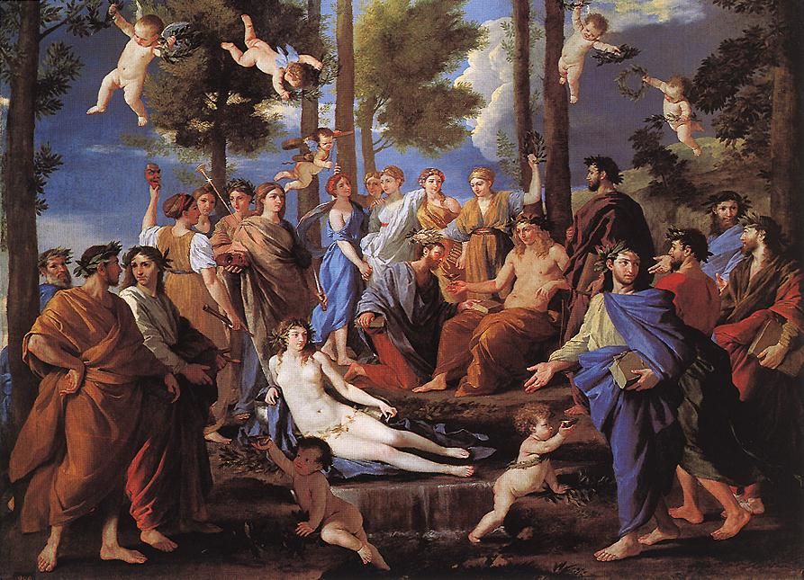 Apollo And The Muses Parnassus 1630s