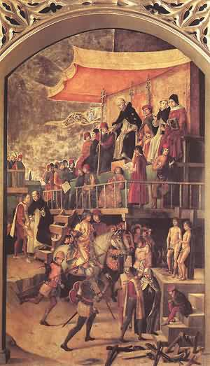 Burning Of The Heretics 1490