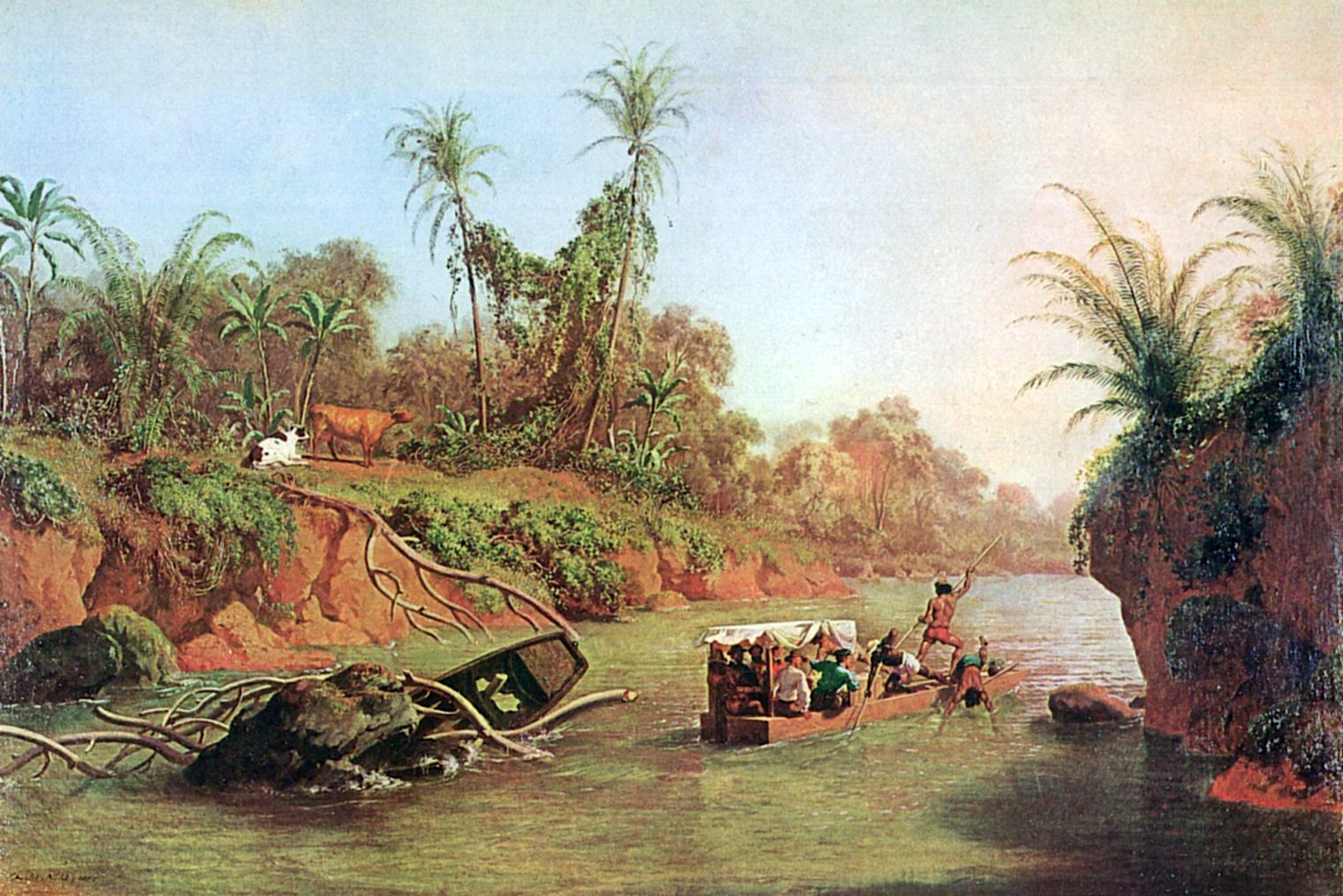 Incident on the Chagres River