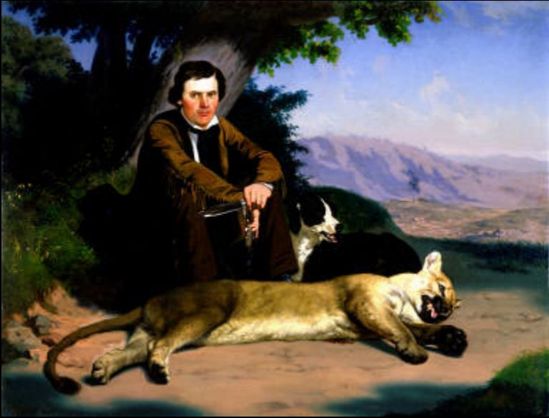 Peter Quivey and the Mountain Lion
