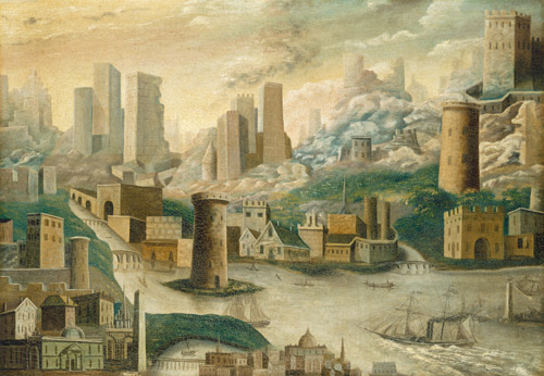 A City of Fantasy, mid 19th century