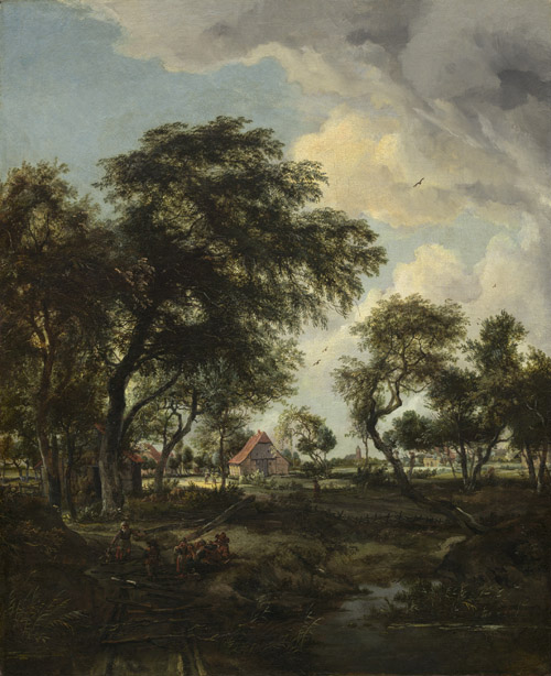 A Farm in the Sunlight, 1668