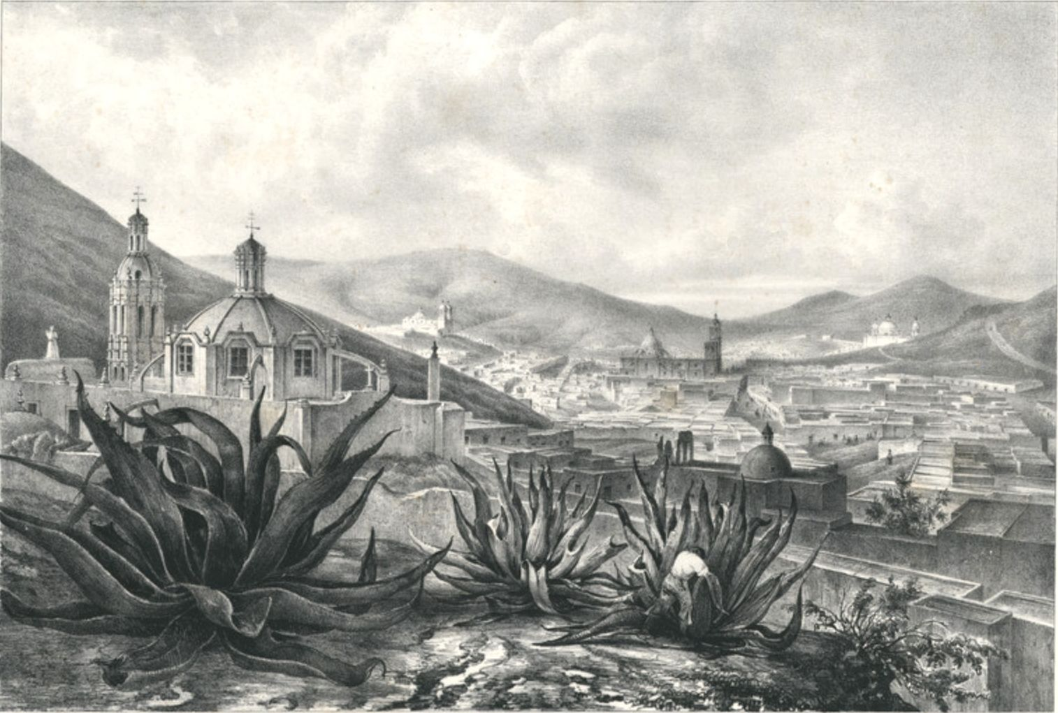 General View of Zacatecas
