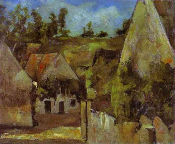 Crossroads at the Rue Remy Auvers