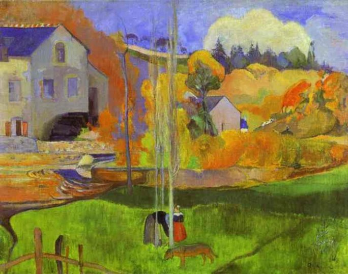 Breton Landscape (The Moulin David)