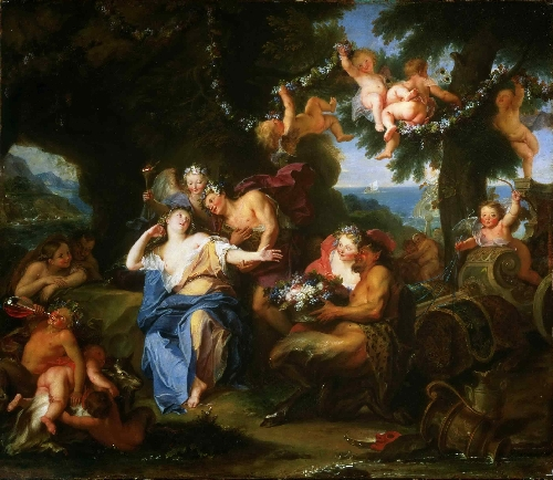 Bacchus and Ariadne on the Isle of Naxos