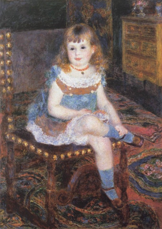 Georgette Charpentier Seated