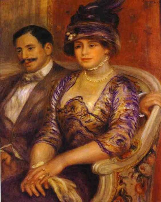 Portrait of M. and Mme