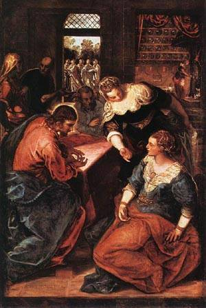 Christ In The House Of Martha And Mary 1570-75