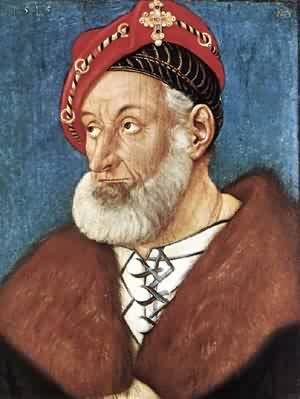 Count Christoph I Of Baden 1515