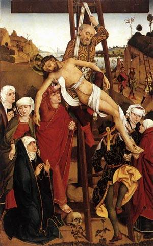 Crucifixion of the Hof Altarpiece 1465
