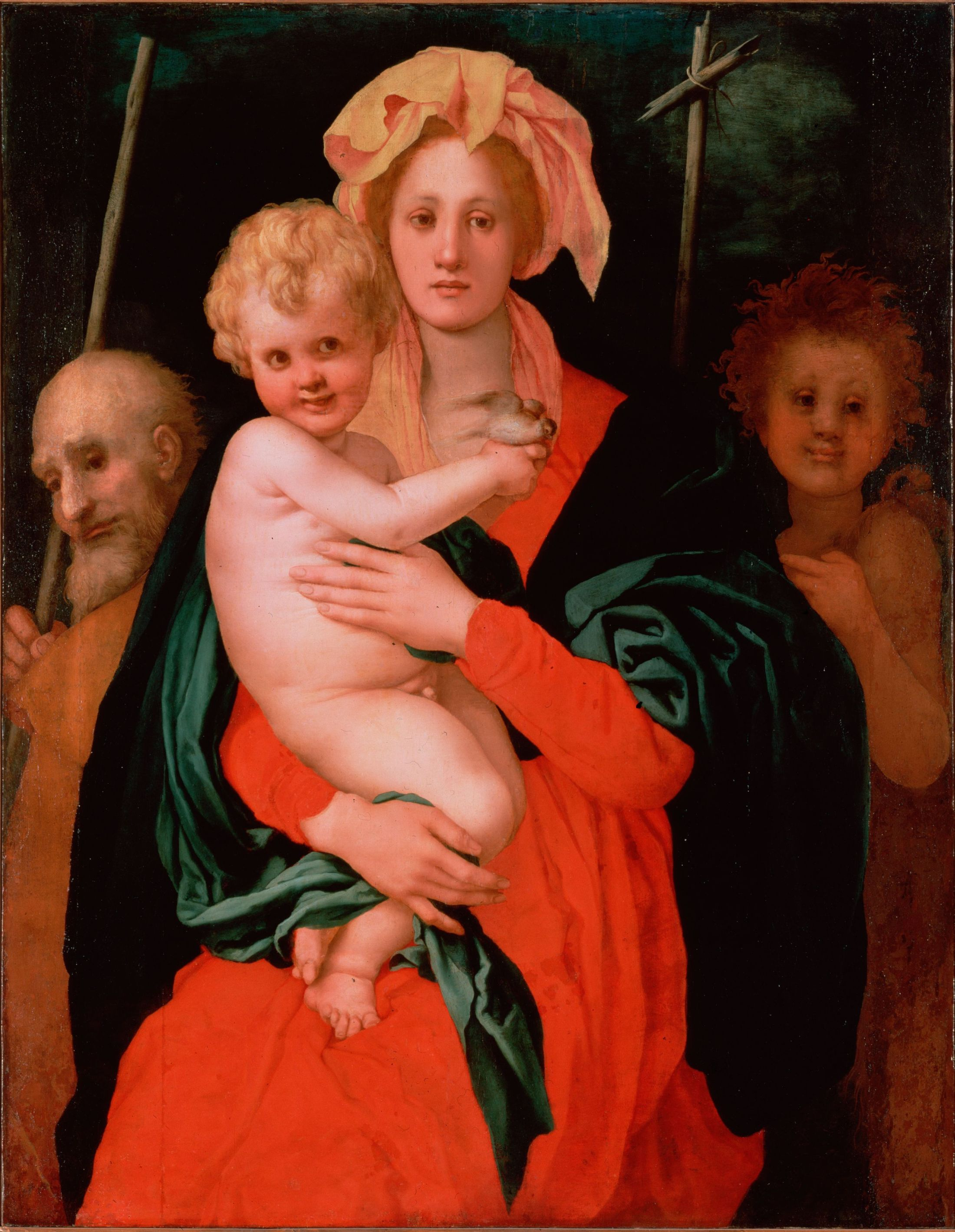 Madonna and Child with Saint Joseph and Saint John the Baptist