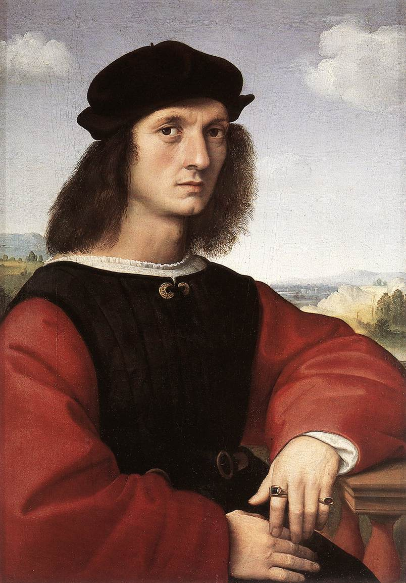 the life and artworks of raffaello sanzio Raphael was born in urbino, the son of a competent painter  giovanni santi,  who was employed as the court artist of duke  exposure to court life in urbino.