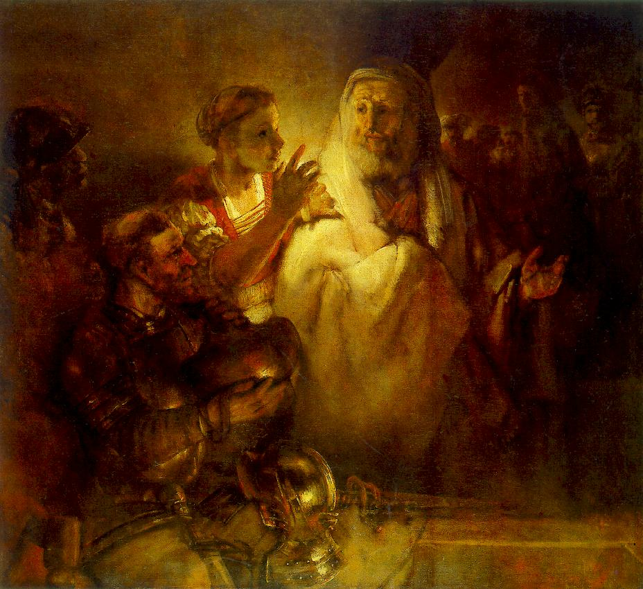 Peter Denouncing Christ 1660