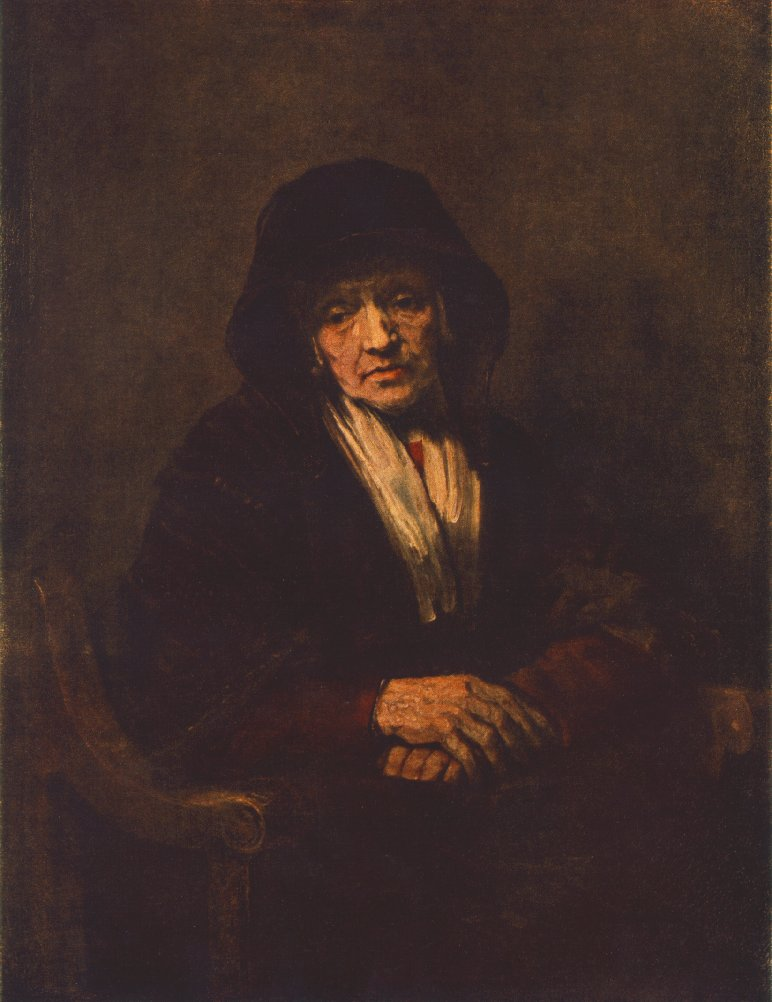 Portrait of an old Woman 1654