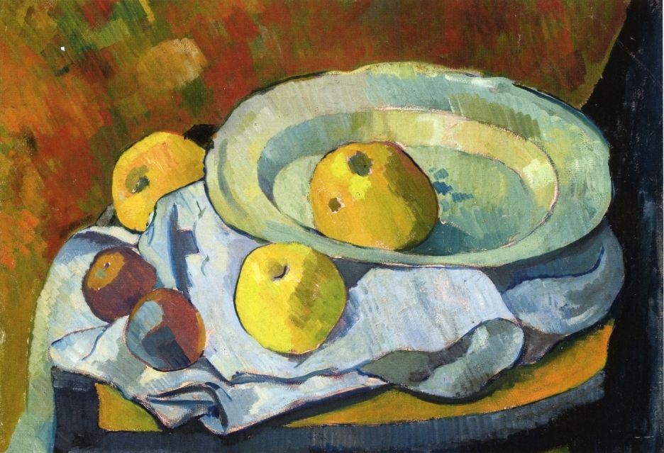 Plate of Apples